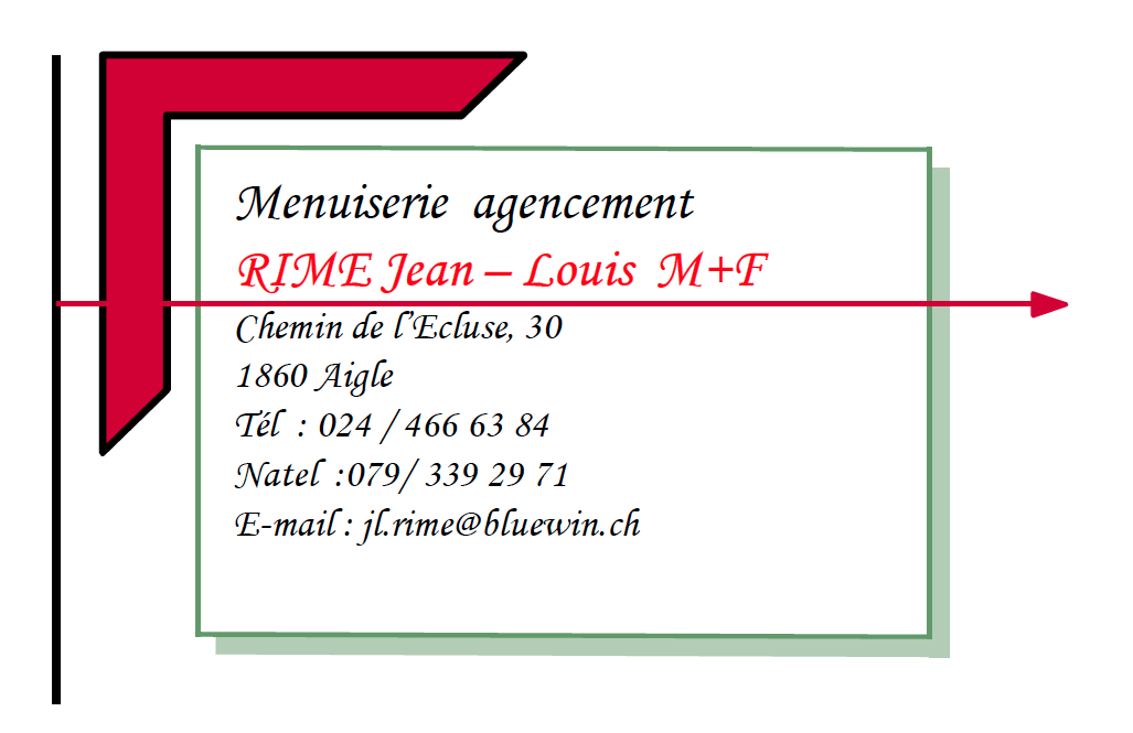 Menuiserie agencement RIME jean – Louis M+F