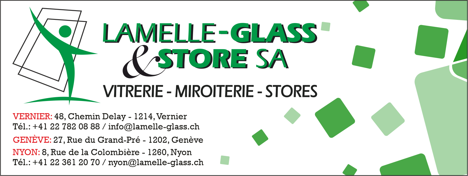 Lamelle-Glass & Store SA